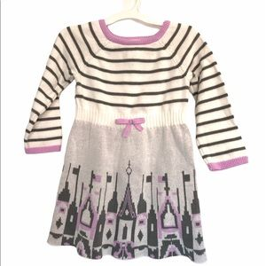 Gymboree girls cotton sweater dress, 2T